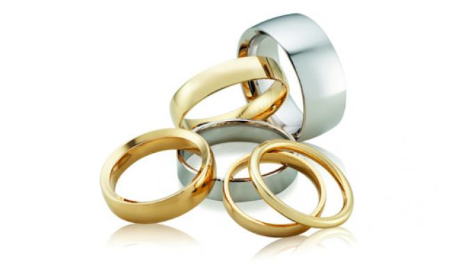 thumbnail for Classic wedding rings
